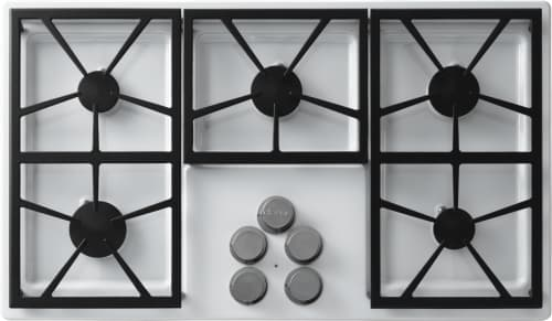 Dacor Distinctive DTCT365GWLPH - 5 Burner Gas Cooktop in White