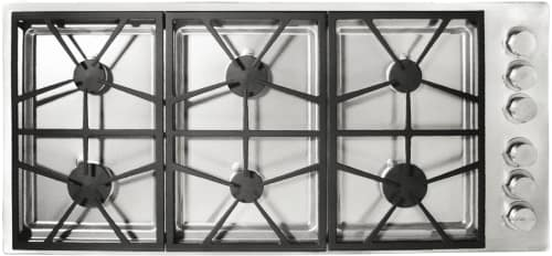 Dacor Distinctive DTCT466GSLPH - 6 Burner Gas Cooktop in Stainless Steel