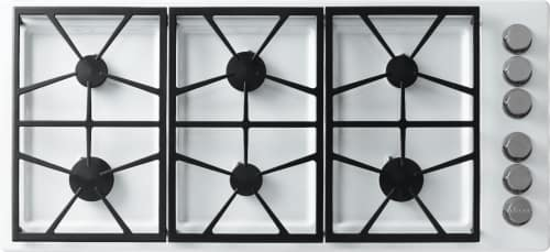 Dacor Distinctive DTCT466GWLPH - 6 Burner Gas Cooktop in White