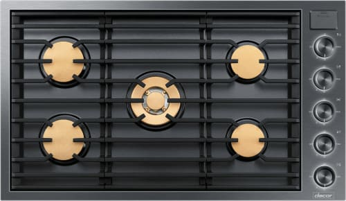 Dacor Modernist DTG36M955FX - Black Stainless Steel Front View