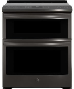 GE Profile PS960SL - Black Stainless Front View