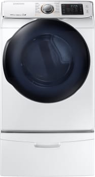 Samsung DV50K7500GW - Samsung ENERGY STAR Smart Dryer with 7.5 cu. ft. Capacity