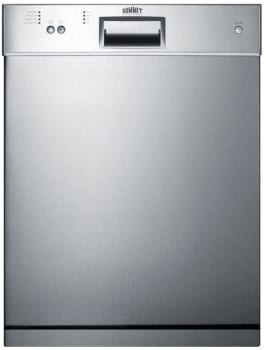 Summit DW2433SSADA - Full Console Dishwasher with Energy Star Rated Performance