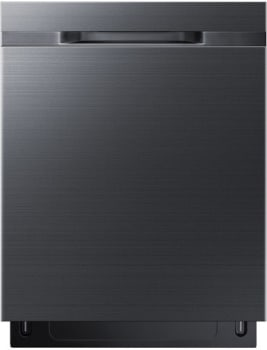 Samsung DW80K5050UG - Black Stainless Steel Front View