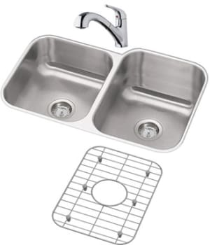 Elkay Dayton Collection DXUH312010RDFBG - Stainless Steel Sink Package