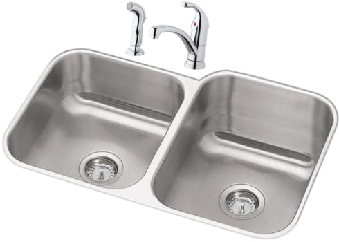 Elkay Dayton Collection DXUH312010RDF - Stainless Steel Sink Package