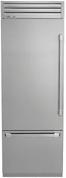 "Dacor Discovery DYF30BFTSL - Discovery 30"" Integrated Bottom-Freezer Refrigerator"