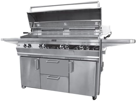 "Fire Magic Echelon Collection E1060S4E1P62W - 86"" Freestanding Gas Grill"