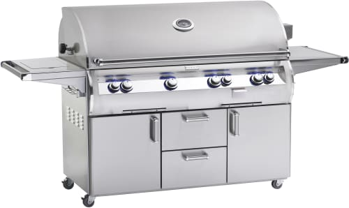 Fire Magic Echelon Collection E1060S4EAP62 - Echelon Diamond E1060s Grill with Analog Thermometer and Flush-Mounted Single Side Burner