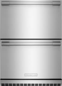 "Electrolux ICON E24RD50QS - 24"" Under Counter Built-In Double Drawer Refrigerator"