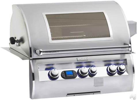 "Fire Magic Echelon Collection E660IML1NW - 31"" Built-In Gas Grill with Viewing Window"