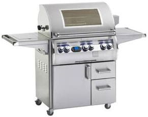 "Fire Magic Echelon Collection E660S4E1P62W - 31"" Freestanding Gas Grill with Viewing Window"
