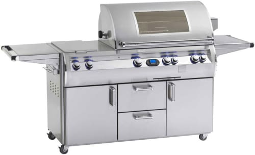 "Fire Magic Echelon Collection E790S4L1P71W - 92\"" Freestanding Gas Grill with Window"