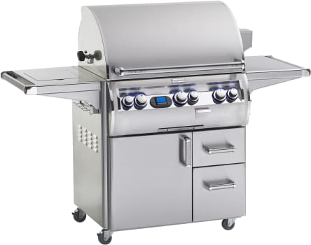 Fire Magic Echelon Collection E790S4LAP62 - Echelon Diamond E790s Grill with Single Side Burner (Digital Model Shown)