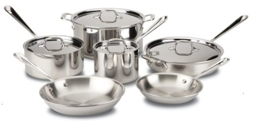 All Clad 401488R - Cookware Set