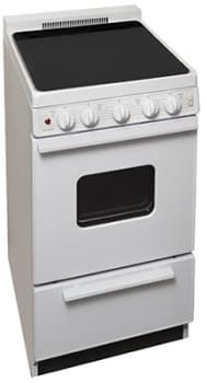 "Premier EAS2X0OP - 20"" Smoothtop Electric Range in White"