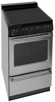 "Premier EASX0P - 20"" Smoothtop Electric Range in Stainless Steel"