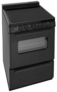 "Premier ECS2X0BP - 24"" Smoothtop Electric Range in Black"