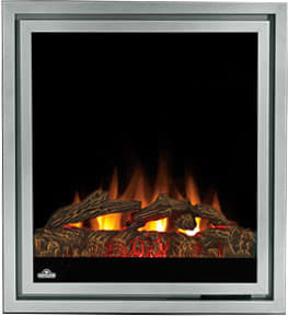 "Napoleon Tranquille Series EF30 - Tranquille 30"" Electric Fireplace with Traditional Logs Set"