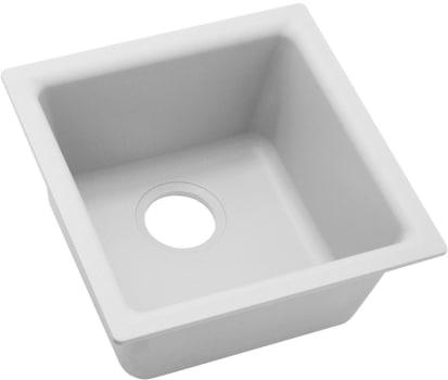 Elkay Quartz Classic ELG1616WH0 - White Main View