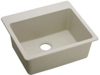 Elkay Gourmet E-Granite Collection ELG2522BQ - Bisque Angle View