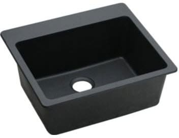 Elkay Gourmet E-Granite Collection ELG2522BK - Black Angle View