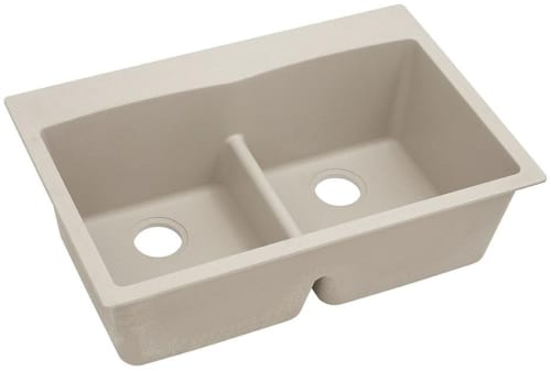 Elkay Gourmet E-Granite Collection ELGDLB3322PT0 - Putty Angled View
