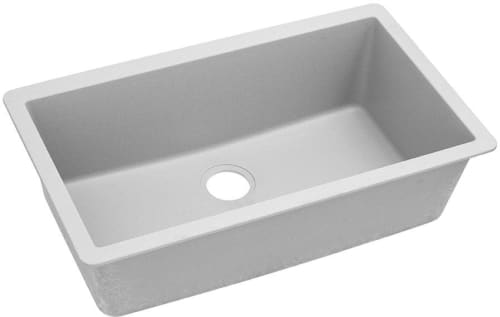 Elkay ELGRU13322WH0 33 Inch Single Bowl Undermount Kitchen Sink with on white overmount kitchen sink, white porcelain kitchen sink, white marble kitchen sink, rectangle undermount bathroom sink, small white kitchen sink, bisque undermount sink, cast iron porcelain kitchen sink, copper corner kitchen sink, white steel kitchen sinks, white subway tile kitchen, white kitchen with farmers sink, laminate counter with undermount sink, composite granite undermount sink, white single kitchen sink, rohl allia fireclay kitchen sink, elkay undermount double sink, 12-inch drop in sink, white kitchens with corian countertops, used farmhouse kitchen sink, single bowl offset kitchen sink,