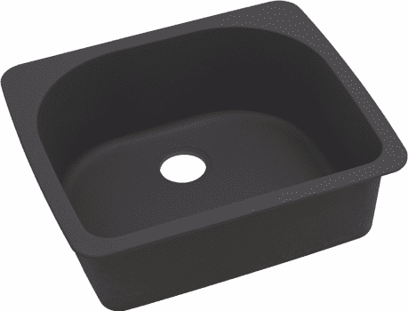 Elkay Gourmet E-Granite Collection ELGS2522BK0 - Black