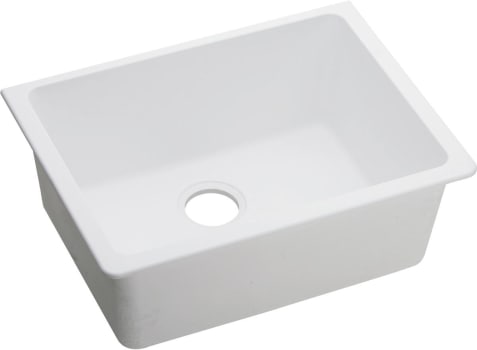 Elkay Quartz Classic ELGU2522WH0 - White Angled View