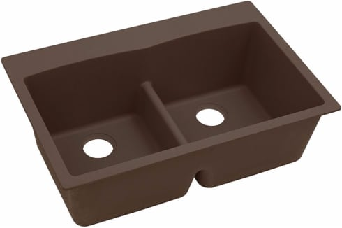 Elkay Gourmet E-Granite Collection ELGDLB3322MC0 - Mocha