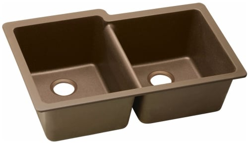 Elkay Gourmet E-Granite Collection ELGU250RMC0 - Mocha