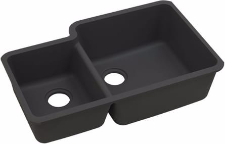 Elkay Gourmet E-Granite Collection ELGOU3321LBK0 - Black