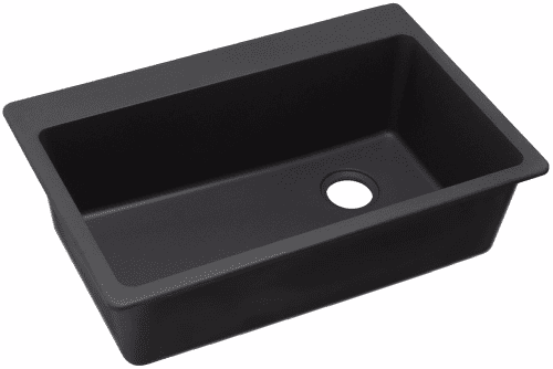 Elkay Gourmet E-Granite Collection ELG13322BK0 - Black