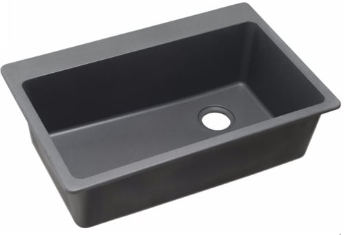 Elkay Gourmet E-Granite Collection ELG13322GY0 - Dusk Gray