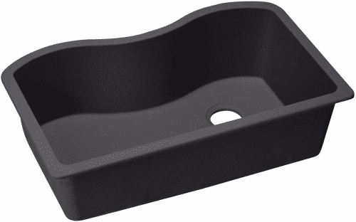 Elkay Harmony E-Granite Collection ELGUS3322RBK0 - Black