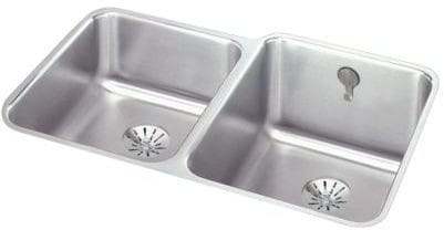 Elkay Gourmet Perfect Drain Collection Lustertone Collection ELUH3120LPDK - Featured View