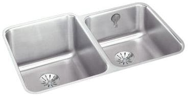 Elkay Gourmet Perfect Drain Collection Lustertone Collection ELUH3120RPDK - Featured View