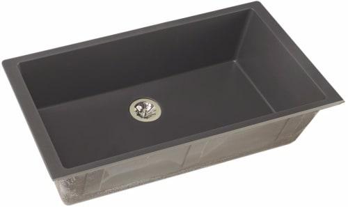 Elkay Quartz Luxe ELXRUP3620CH0 - Charcoal Front View