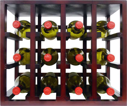 Vinotemp Epicureanist Series EPSTACK12 - 12 Bottle Stackable Wine Rack