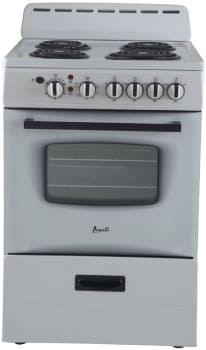Avanti ER24P0WG 24 Inch Electric Range with Storage Drawer, Surface