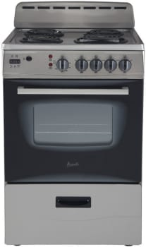 "Avanti ER24PX - 24"" Electric Range in Stainless Steel"