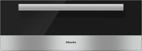 Miele PureLine Series ESW6880 - ESW6880 PureLine Clean Touch Steel w Black Glass Front