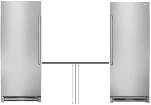 Electrolux EXREFR4 - Separate Install