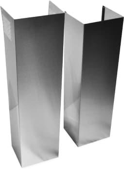 Whirlpool EXTKIT10ES - Wall Hood Chimney Extension Kit - Stainless Steel