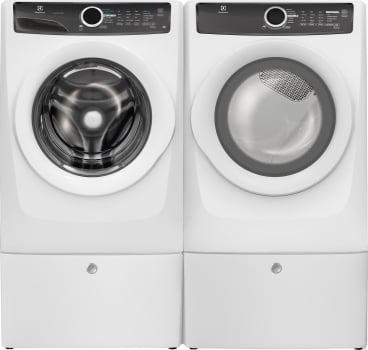 Electrolux LuxCare EXWADRGIW2517 - Side-by-Side on Pedestals