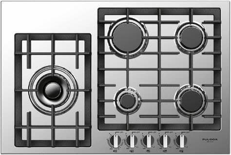 "Fulgor Milano 400 Series F4GK30S1 - 30"" Largo Gas Cooktop"