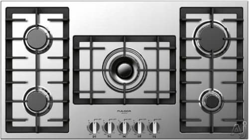 "Fulgor Milano 400 Series F4GK36S1 - 36"" Largo Gas Cooktop"