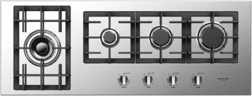 "Fulgor Milano 400 Series F4GK42S1 - 44"" Largo Gas Cooktop"
