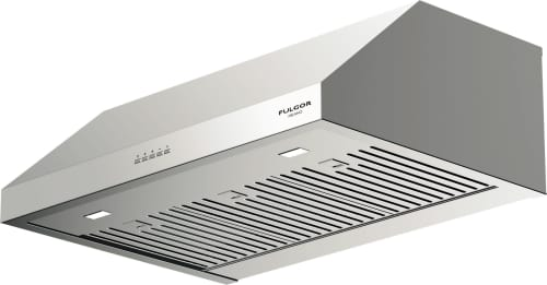 Fulgor Milano F4UC30S1 - 30 Inch Under Cabinet Hood with 450 CFM Internal Blower, Stainless Steel Baffle Filters, Mechanical Controls, 4 Speed Blower Fan, LED Lighting and Recirculating Options